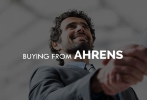 buying from ahrens sheds